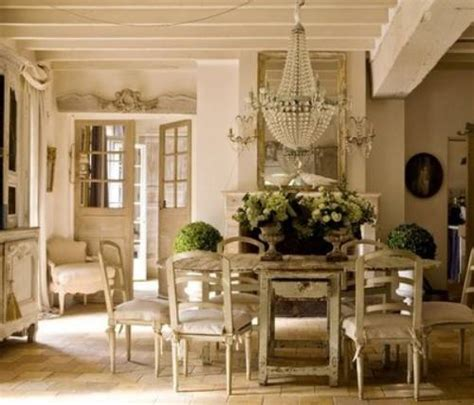 Dining Room Sets With Fabric Chairs by How To Decorate In French Country Style