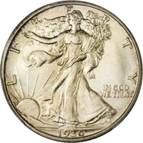 1936 walking liberty half dollar value | jm bullion™