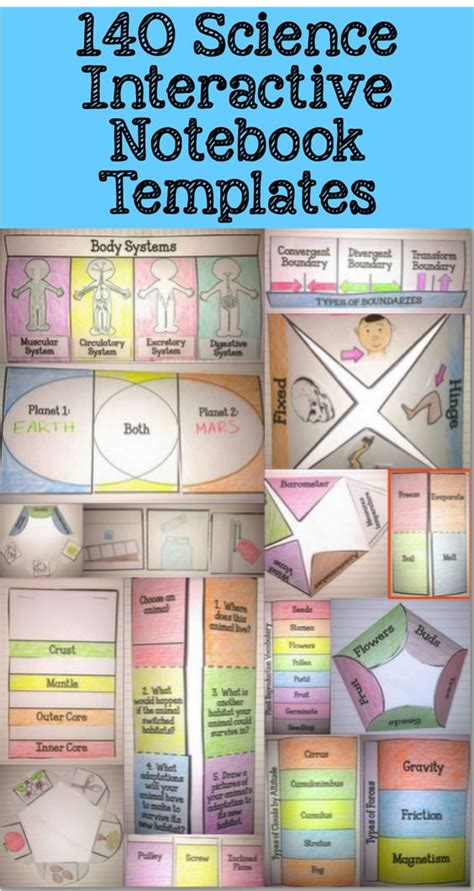 free interactive notebook templates language teaching and it is on