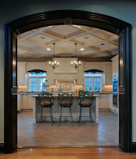 long kitchen island designs elegant long island kitchen design for a large scale room