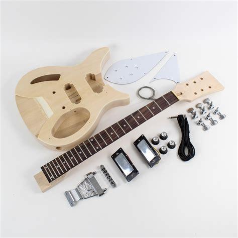 diy guitar kit rickenbacker style semi hollow diy guitars