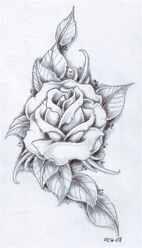 rose leaves tattoo 25 designs