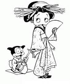 betty boop coloring pages betty boop coloring pages coloringpages1001