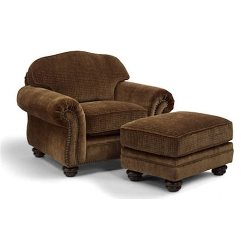 flexsteel chair and ottoman flexsteel 8649 10 08 bexley chair and ottoman discount