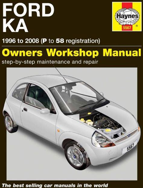 ford ka repair manual haynes 1996 2008 new workshop car manuals repair books information