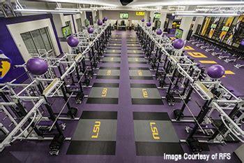 Video   LSU New Weight Room MondoArmor Flooring   Kiefer USA