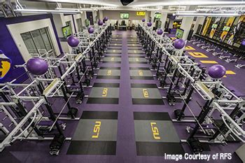 video lsu  weight room mondoarmor flooring kiefer usa