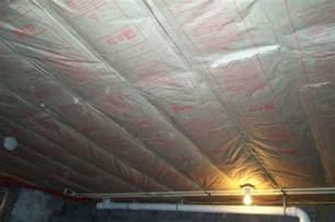 insulating basement ceiling home design