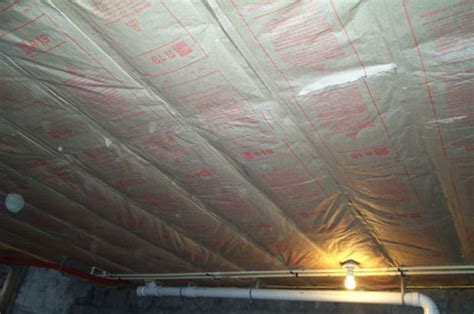 Basement Ceiling Insulation by November 2006