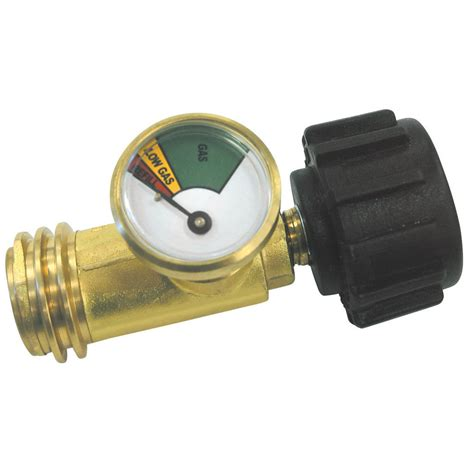 shop master forge metal propane gas level indicator at lowes com