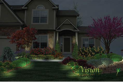 landscape lighting springfield mo vision landscape design