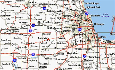 chicago highway map wackerline trailer and equipment sales map directions