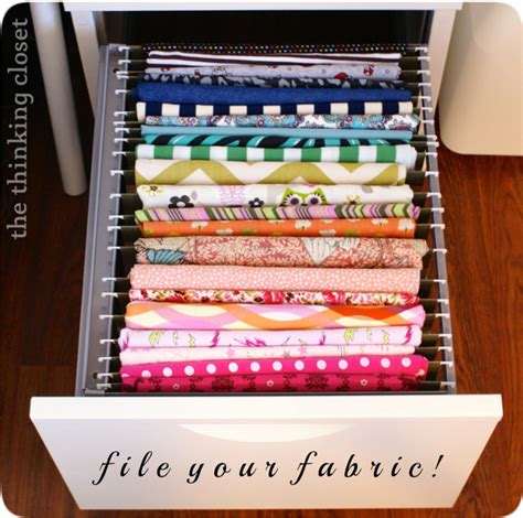 Creative Solutions File Cabinet by Your Stash With Creative Fabric Storage Ideas