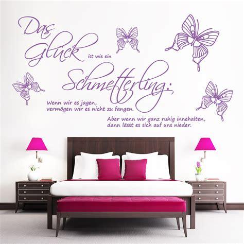 Kinderzimmer Junge 2427 by Zitat Quot Das Gl 252 Ck Ist Wie Ein Schmetterling Quot Wandtattoo