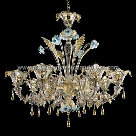 Murano Glass Chandelier primavera 8 lights murano glass chandelier murano glass