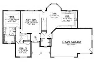 Country Kitchen Floor Plans Big House Plans Large Home Plans House Plans With Large