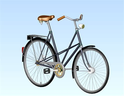 solidworks tutorial bike bicycle locomotief stl step iges solidworks 3d cad