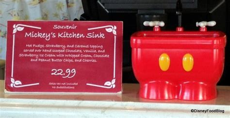 Disney World Kitchen Sink Mickey S Kitchen Sink Sundae In Two Disney World Locations