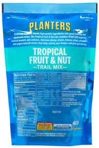 planters trail mix fruit and nut planters trail mix fruit amp nut 6 oz bag free shipping