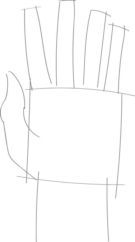Como Desenhar Mão Aberta Em Menos de 3 Minutos Passo a Passo