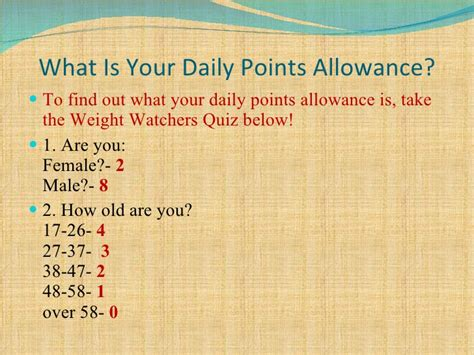 how to calculate your weight watchers points inquiry 3 weight watchers