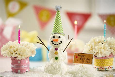 Flower Cupcakes Bouquet - happy birthday snow people petal talk