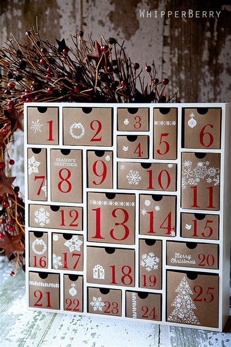 silhouette cameo advent calendar whipperberry