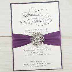 wedding invitation companies violet parcel invitation wedding invites