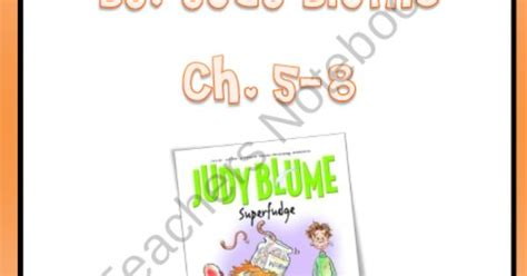 superfudge book report superfudge by judy blume chapters 5 to 8 product from ms