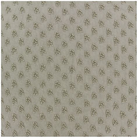 patterned muslin fabric plumetis muslin fabric detroit taupe x 50cm ma petite