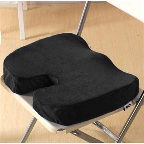 car seat bottom support new year memory foam orthopedic seat for chair car