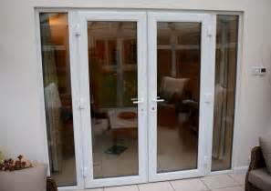 Patio Doors With Side Windows Exterior Upvc Glazed Patio Doors Frame