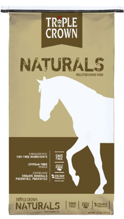 naturals pelleted horse feed triple crown feed