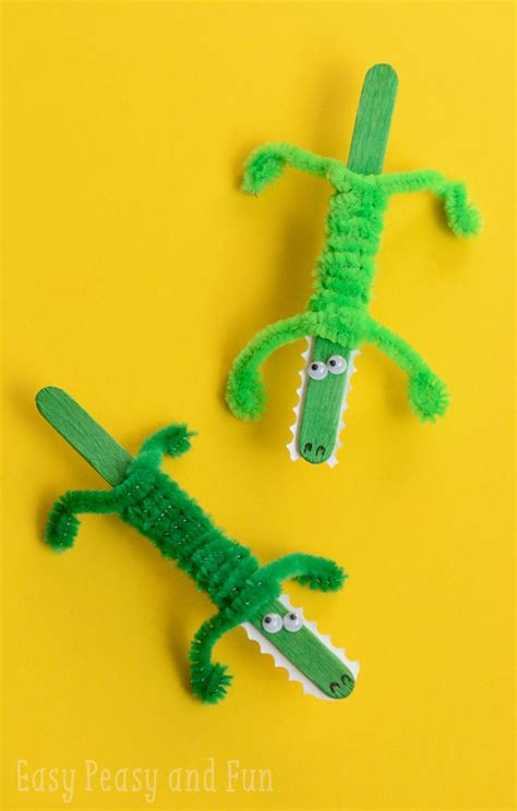 reptile crafts for best 25 crocodile craft ideas on reptile