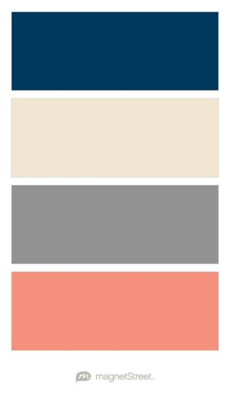what colors look with grey best 25 coral color schemes ideas on