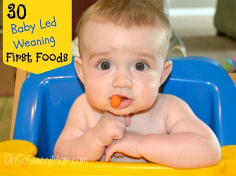 baby led weaning cutemomblog com baby led weaning first foods oh so savvy mom