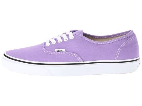Vans Authentic 23 lyst vans authentic in purple