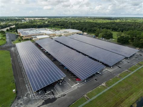 lockheed martin solar panel see florida s largest solar carport solar builder