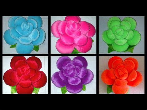 Bantal Bunga Mawar bantal mawar jumbo souvenirboneka