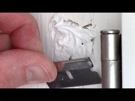 how to fix a large in a hollow door 17 best ideas about hollow doors on door