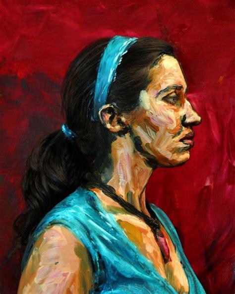 people painting real people painted to look like paintings geekologie
