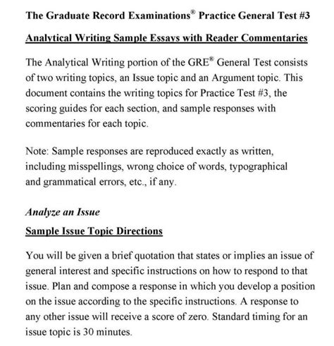 Gre Issue Essay Template Shatterlion Info Gre Issue Essay Template