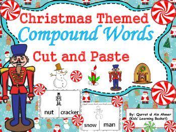 christmas compound words worksheet best naming compounds worksheet ideas on pinterest