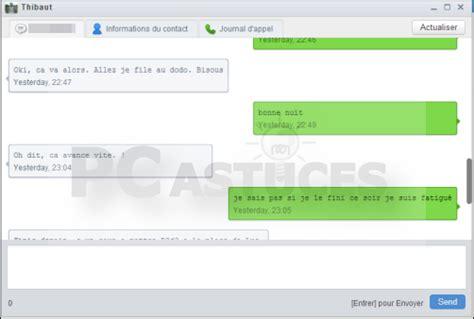 message photos pc astuces g 233 rer t 233 l 233 phone android depuis ordinateur