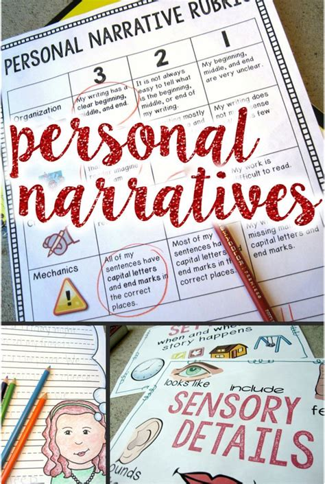 personal narrative essay sles personal narrative writing unit for 2nd or 3rd grade