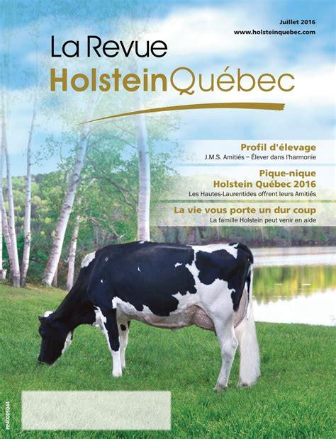 Calendrier 2016 Québec Congé Revue Juillet 2016 3 By Holstein Qu 233 Bec Issuu