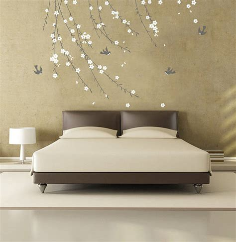 blossom wall stickers trailing blossom wall sticker by zazous
