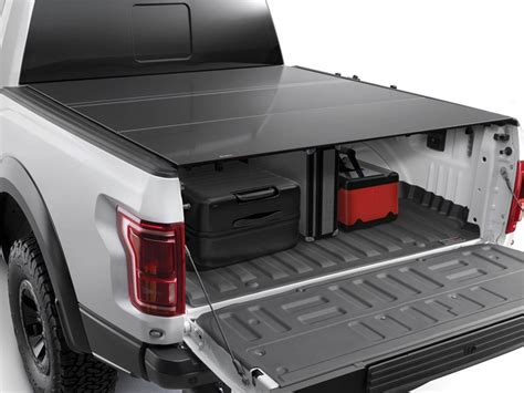 truck bed cer cover 2017 2018 f250 f350 weathertech alloycover tri fold bed