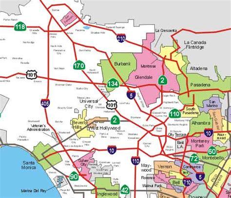 map of burbank ca burbank map california my