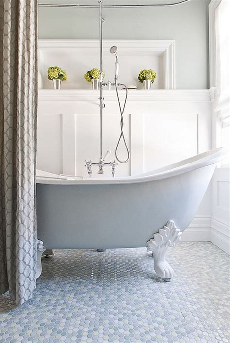 clawfoot tub bathroom ideas colorful bathtub ideas bathroom decor pictures